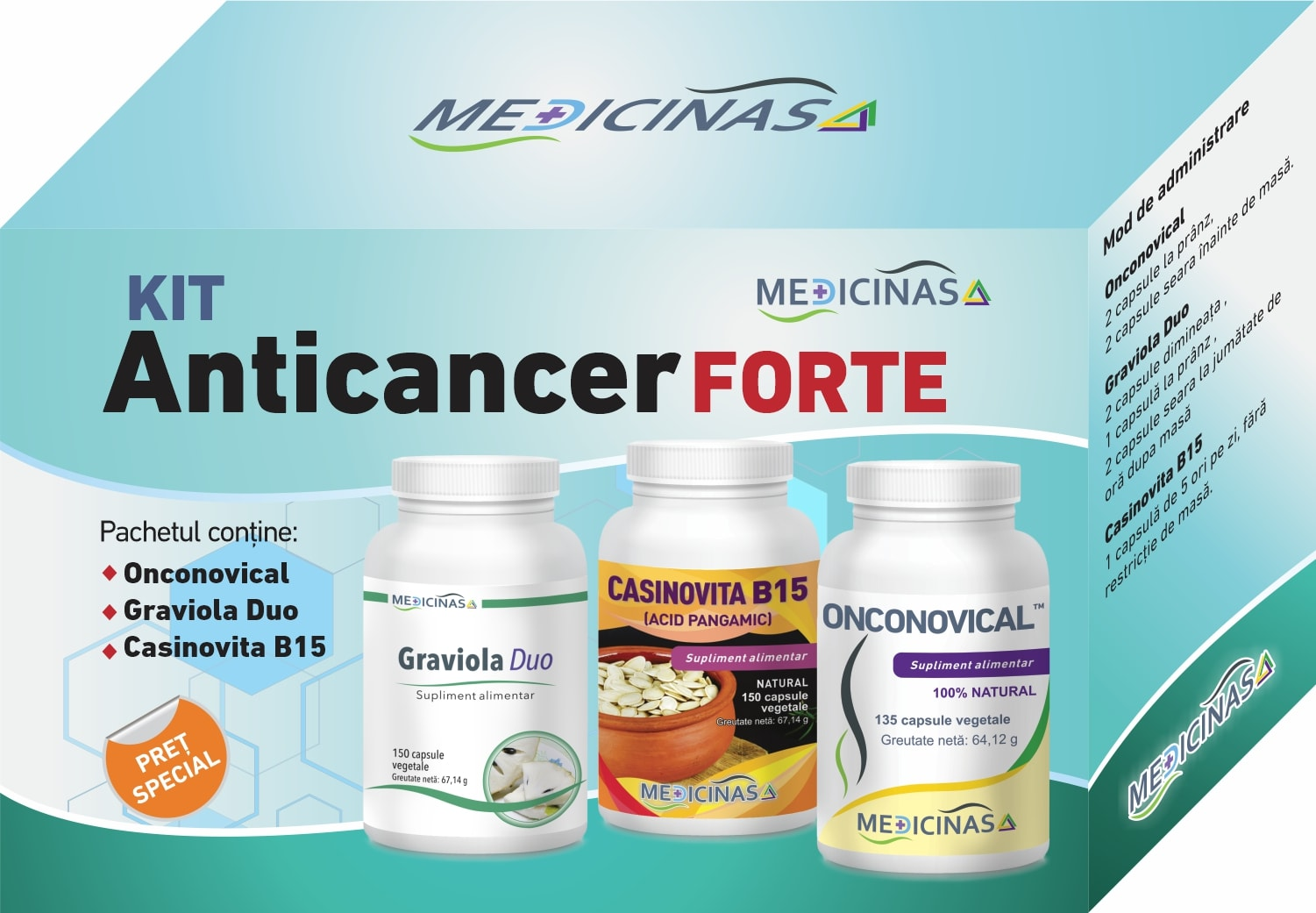 Kit Anticancer Forte